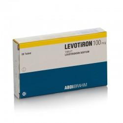 Levotiron T4 100 mcg 50 tablets