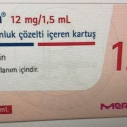 Saizen 12 mg/1,5 ml 8 mg/ml 1 cartridge