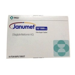 Janumet 50/1000 mg 56 film-coated tablets