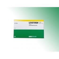Levotiron T4 125 mcg 50 tablets