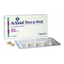 Actonel 35mg 4 tabs
