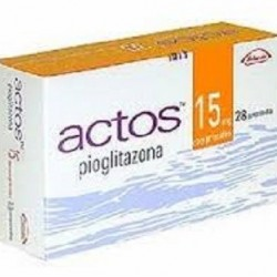 Actos 15mg 28 tabs