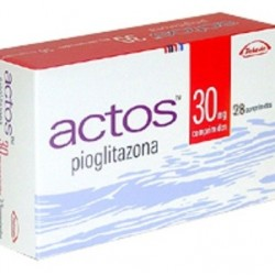 Actos 30mg 28 tabs