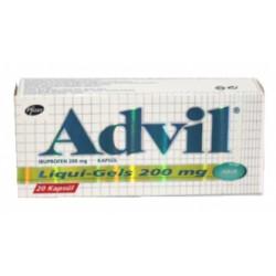 Advil Liquigel 200 mg 20 caps