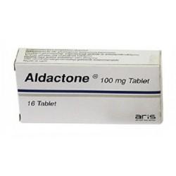 Aldactone 100 mg 16 tabs