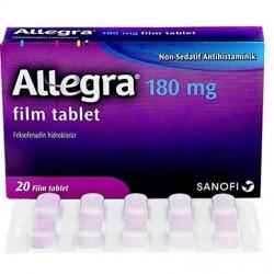 Allegra 180 mg 20 tabs