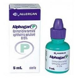 Alphagan-P 0.15% eye drops 5 ml