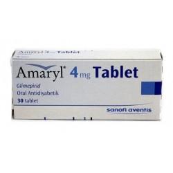 Amaryl 4mg 30 tabs