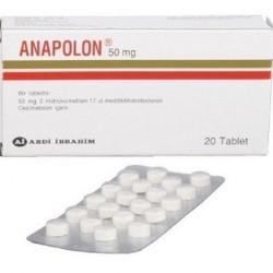 Anapolon 50 mg 20 tabs