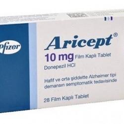 Aricept 10 mg 28 tabs