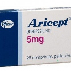 Aricept 5 mg 28 tabs