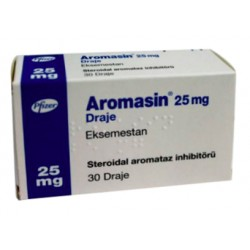 Aromasin 25 mg 30 dragees