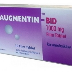 Augmentin BID 1000mg 10 tabs