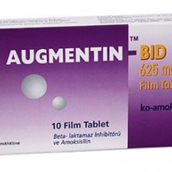 Augmentin BID 625 mg 10 tablets