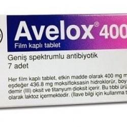 Avelox 400mg 7 tabs