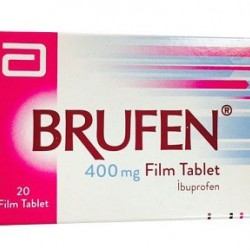 Brufen 400 mg 20 tablets