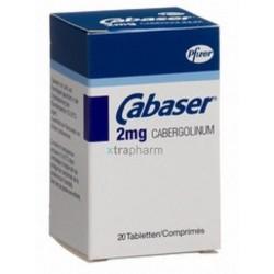 Cabaser 2 mg 20 tabs