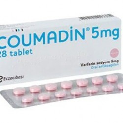 Coumadin 5 mg 28 tabs
