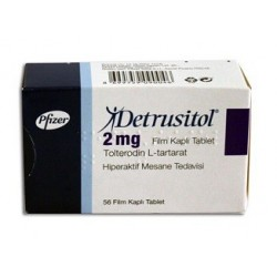 Detrusitol 2mg 56 tabs