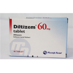 Diltizem (Diltiazem) 60 mg 48 tablets