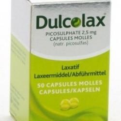 Dulcolax 2.5mg 50 caps