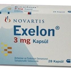 Exelon 3mg 28 caps