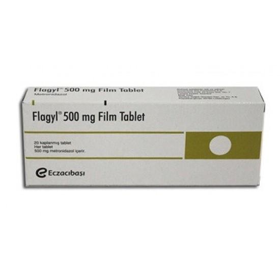 Flagyl 500 mg 20 tabs