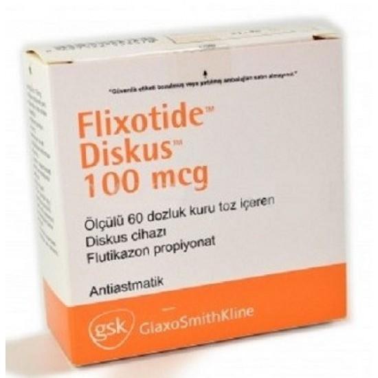 Flixotide 100mcg discus 60 doses