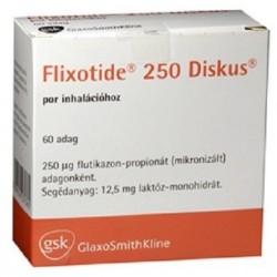 Flixotide 250mcg discus 60 doses