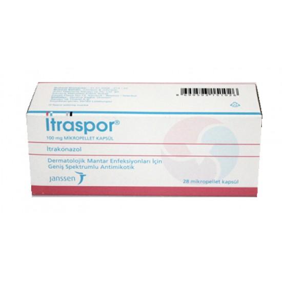 Itraspor 100 mg 28 caps