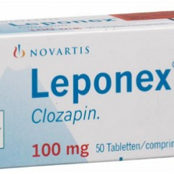 Leponex 100mg 50 tabs