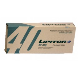 Lipitor 40mg 30 tablets