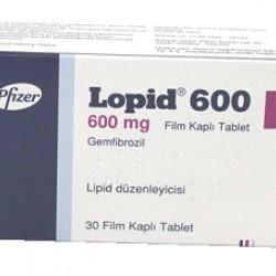 Lopid 600 mg 30 tabs