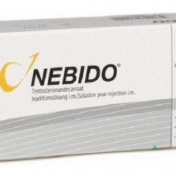 Nebido 250 mg/ml 4ml 1 amp