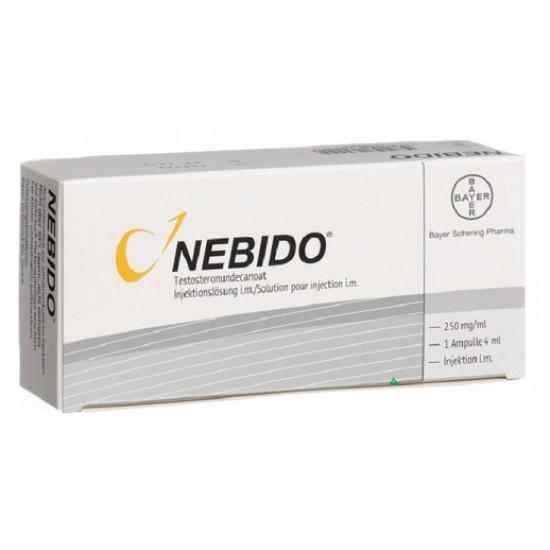 Nebido 250 mg/ml 4ml 1 amp