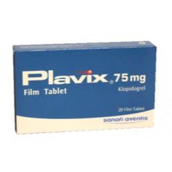 Plavix 75mg 28 tabs