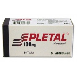 Pletal 100 mg 60 tabs