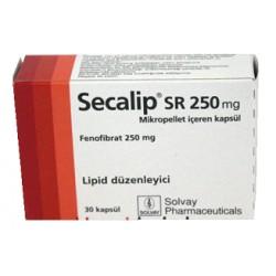 Secalip SR 250 mg 30 caps