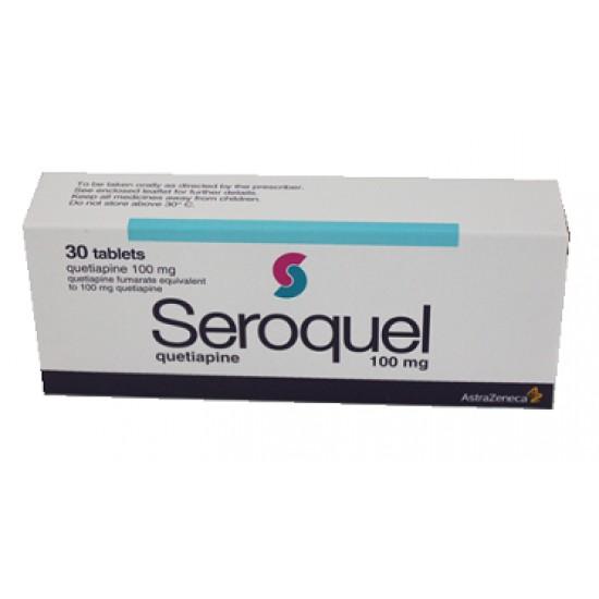 Seroquel 100mg 30 tabs