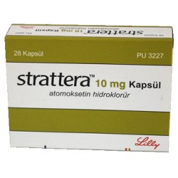 Strattera 10mg 28 caps