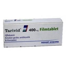 Tarivid (Floxin) 400mg 5 tabs