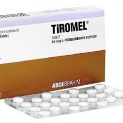 Tiromel (Cytomel T3) 25mcg 100 tablets