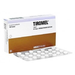 Tiromel (Cytomel T3) 25mcg 100 tablets