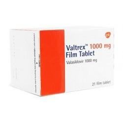 Valtrex 1000mg 21 tabs