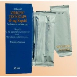 Virigen Testocaps (Andriol) 40 mg 30 capsules