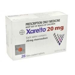 Xarelto 20 mg 28 tabs