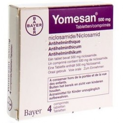 Yomesan 500 mg 4 tablets