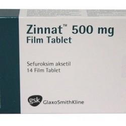 Zinnat 500 mg 14 tabs