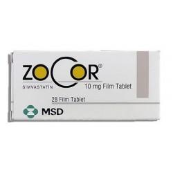 Zocor 10mg 28 tabs