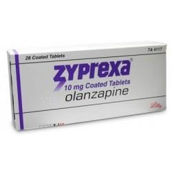 Zyprexa 10mg 28 tabs